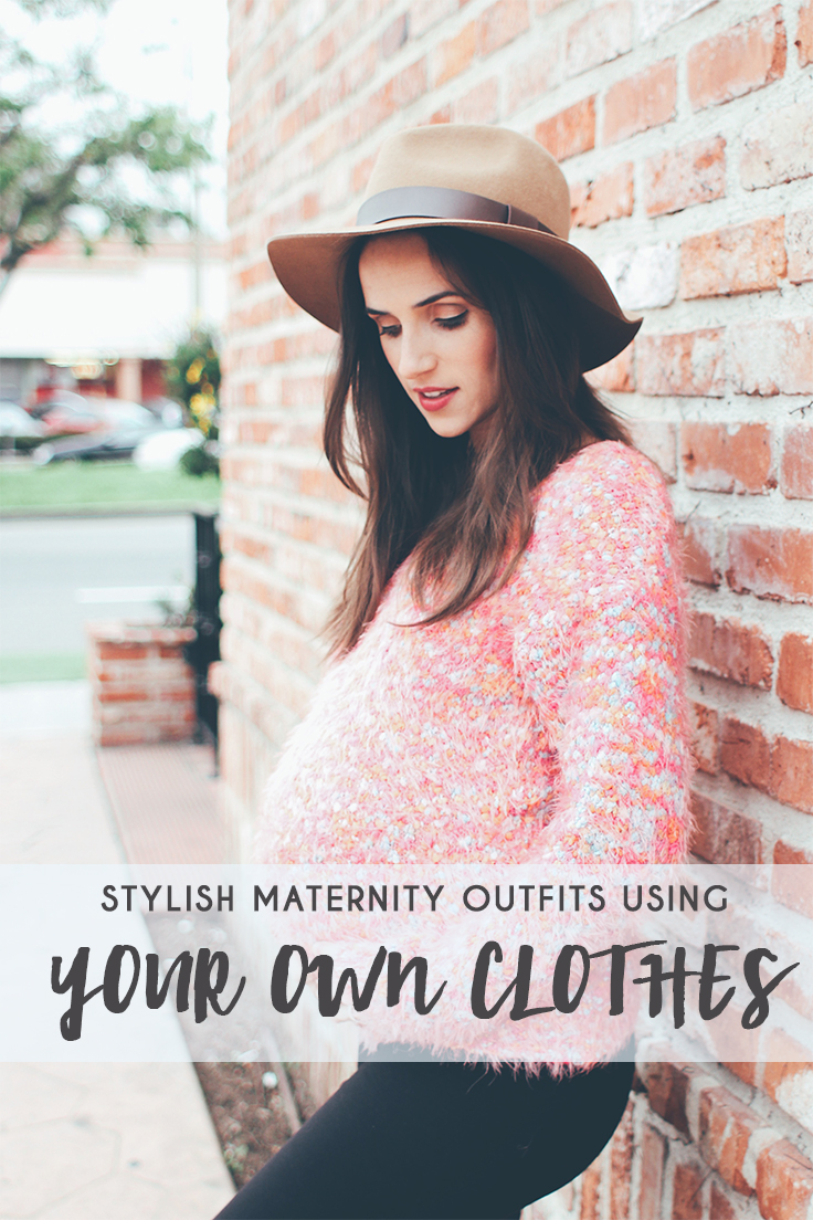 Stylish Maternity Outfit Ideas From Your Own Closet! - thecasualfree.com
