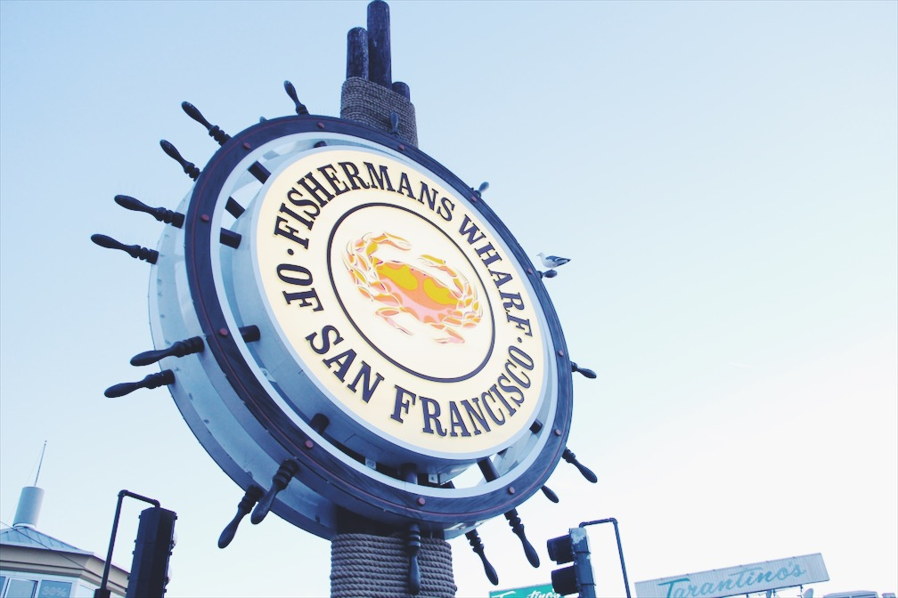 Fishermans Wharf sign, San Francisco - The Casual Free Blog