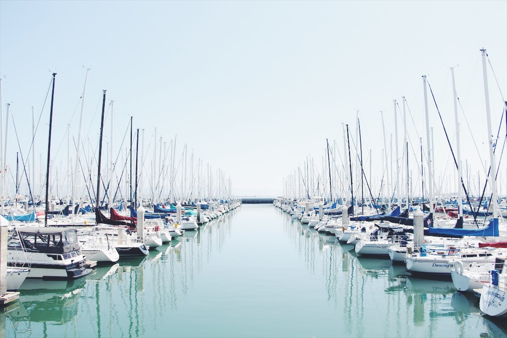 Marina in the Mission Bay area, SF
