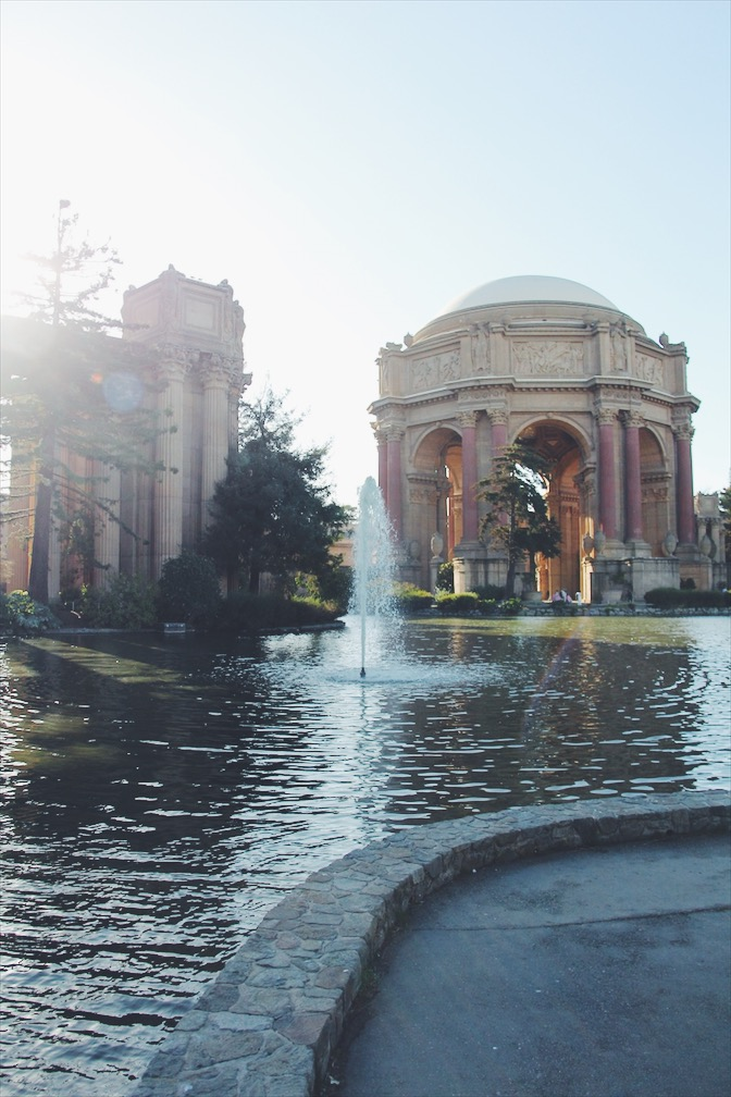 Palace of Fine Arts, San Francisco - The Casual Free Blog