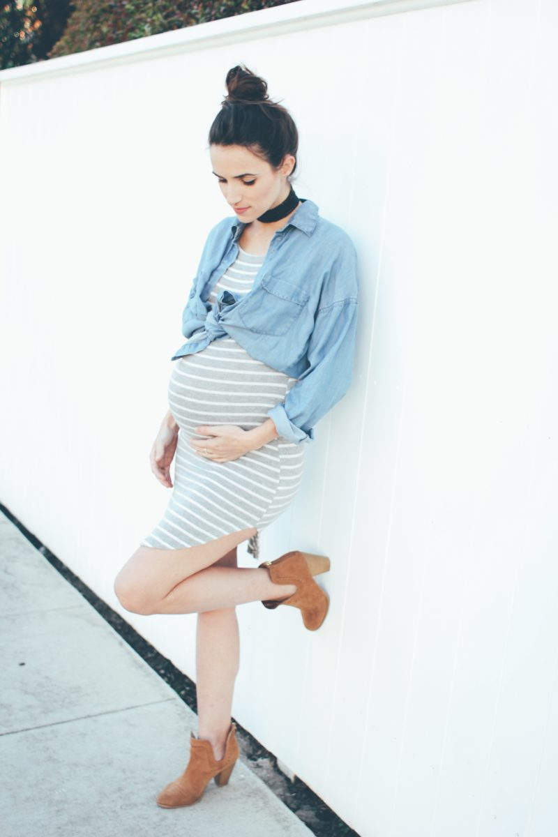 Outfits you can turn into Maternity Clothes straight from your closet!
