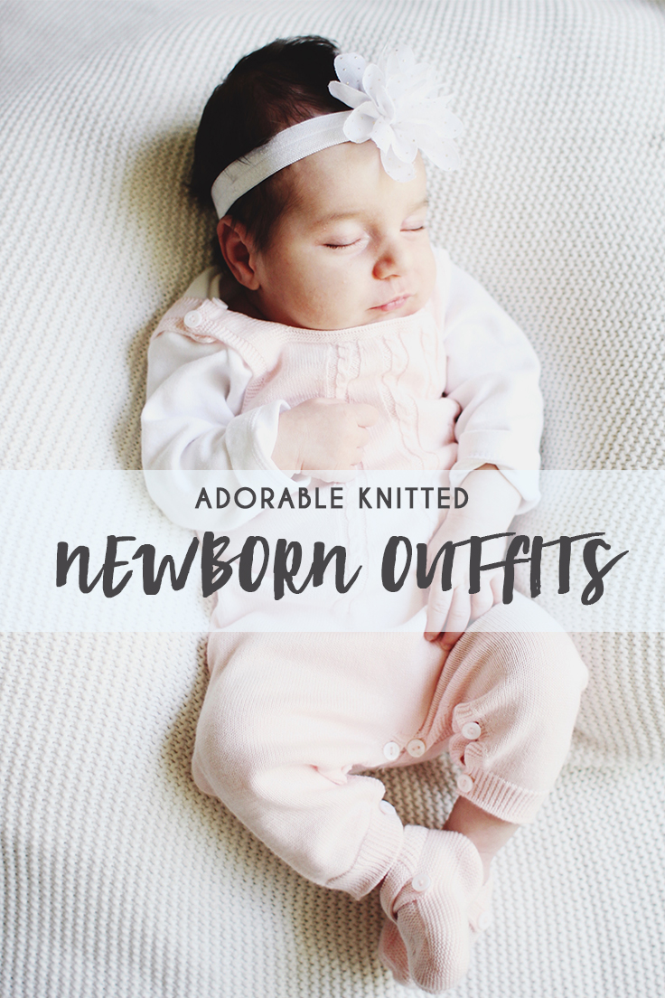 Adorable Knitted Newborn Outfits by Wedoble - thecasualfree.com
