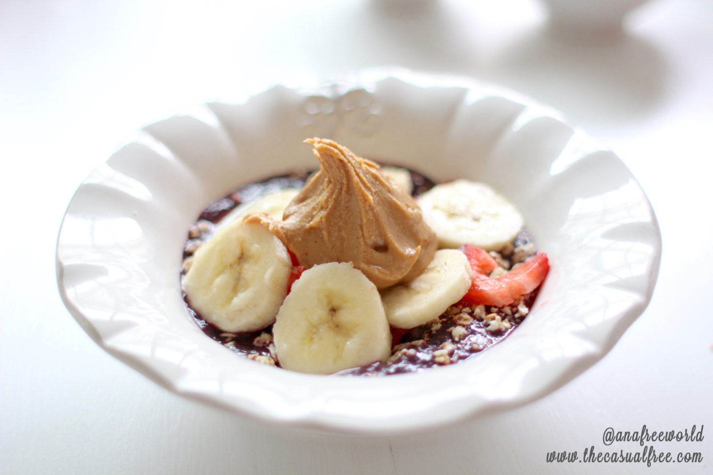 Acai Fruit Bowl - Easy Summer Recipe!