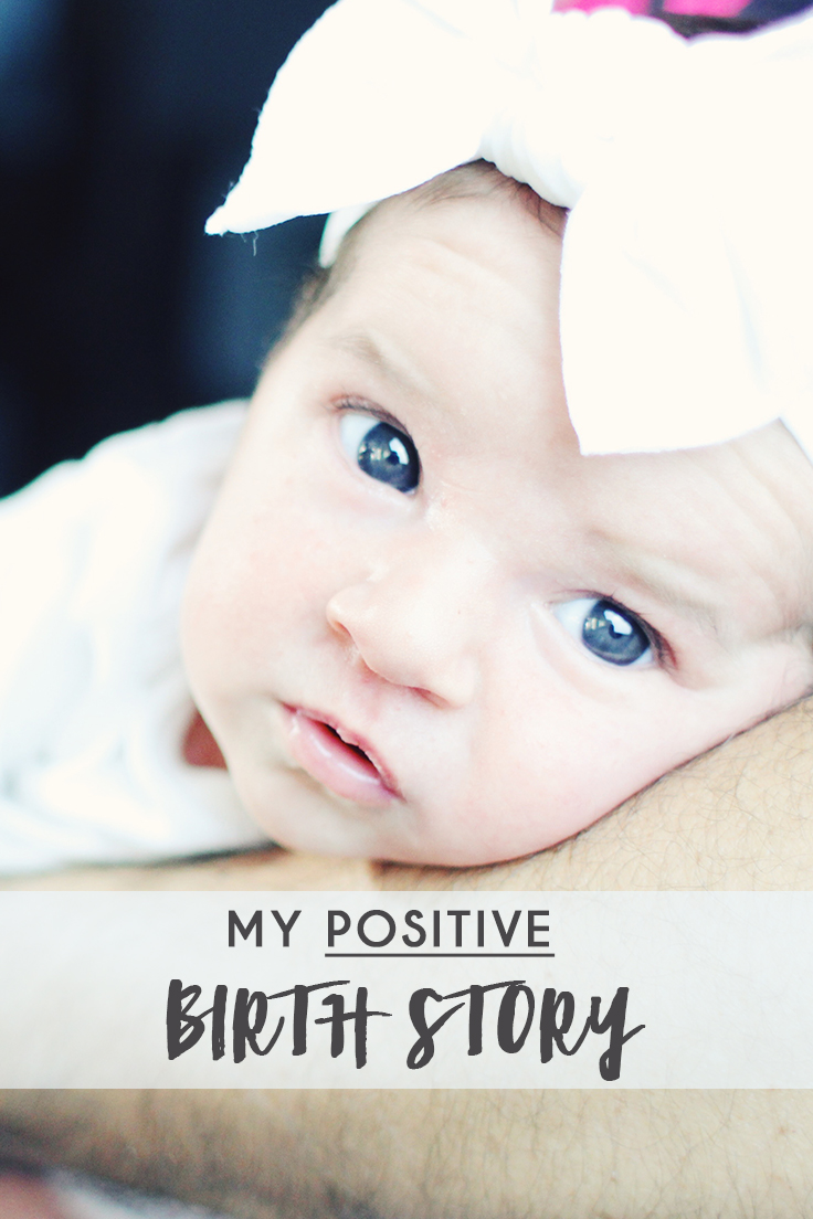 The positive birth story of baby Zoe. - thecasualfree.com