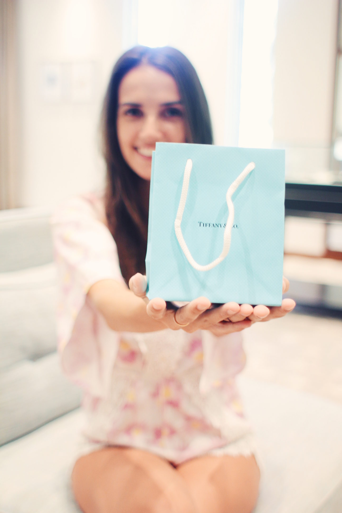 Ana Free at Tiffany and Co. - thecasualfree.com