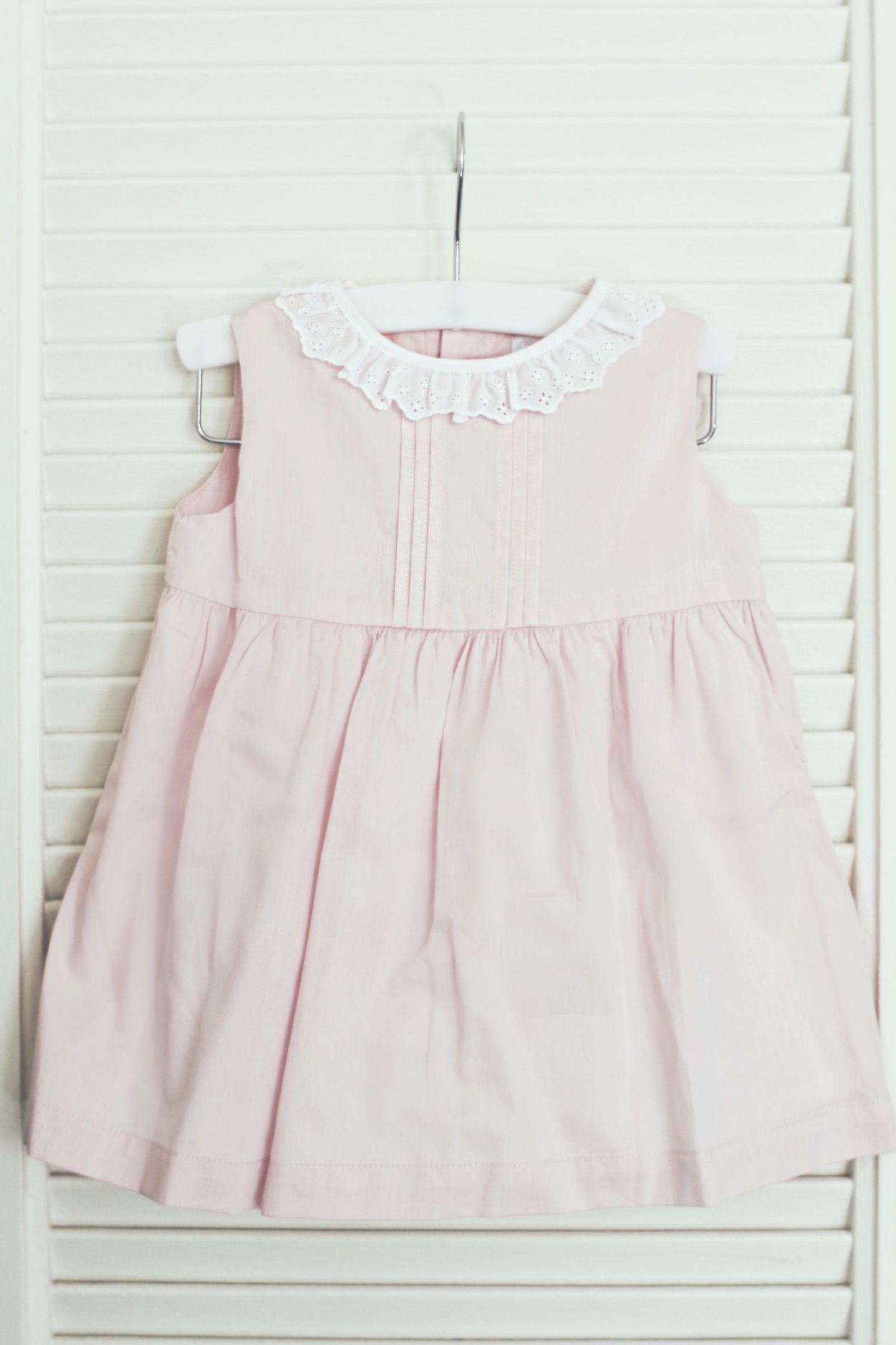 Cute Blush Pink Baby Dress by Laranjinha - thecasualfree.com