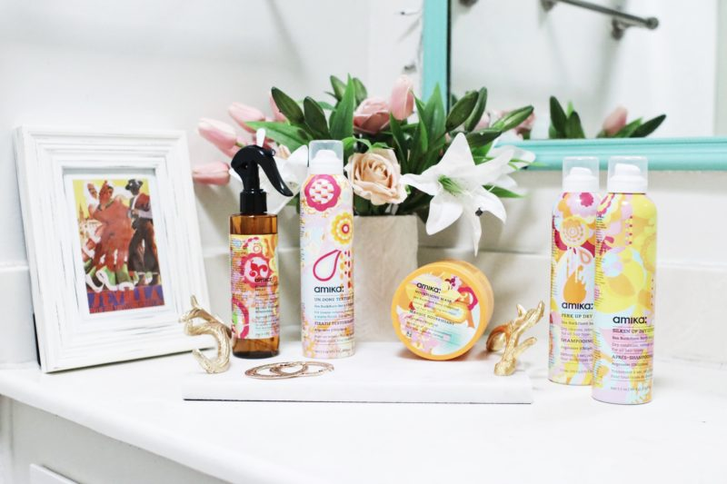 How To Collaborate With Brands - Amika Haircare - thecasualfree.com