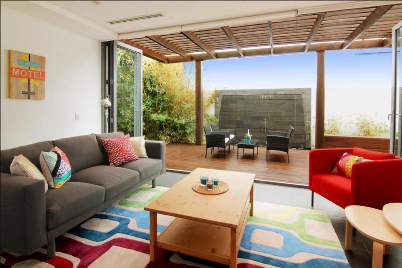 Living Room at Maroubra Beach House - Sydney, Australia on Booking.com - thecasualfree.com
