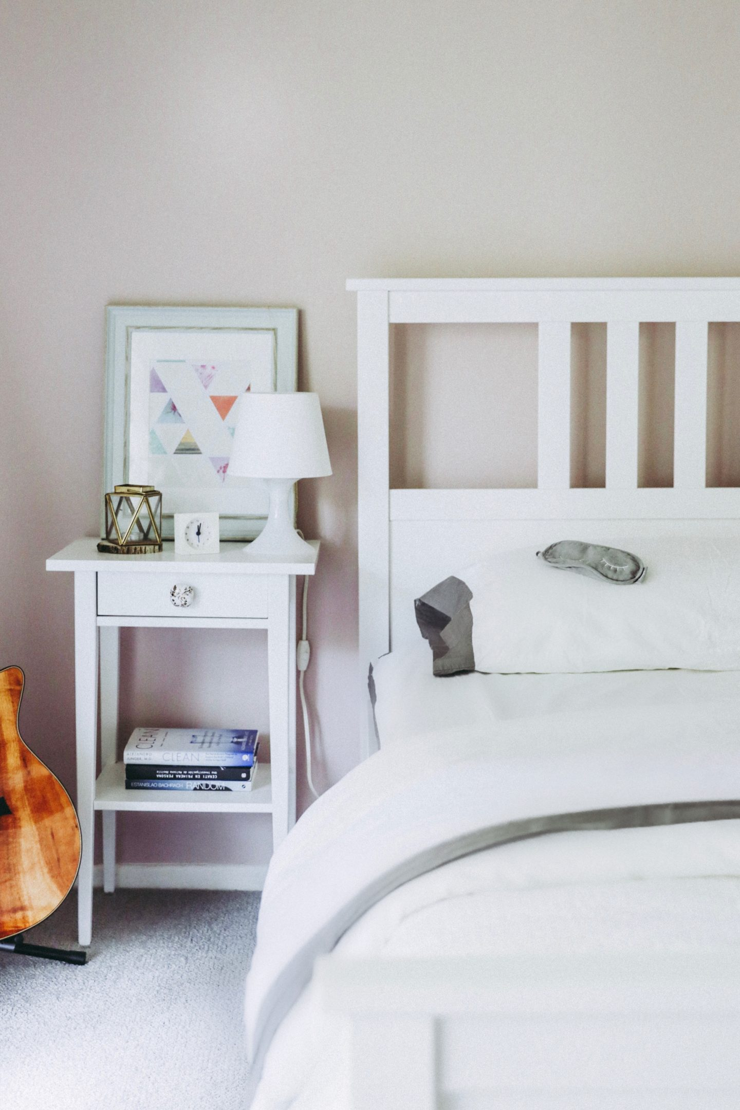 The Casual Free: 4 Ways To Get More Sleep With Kids - Bed Nightstand