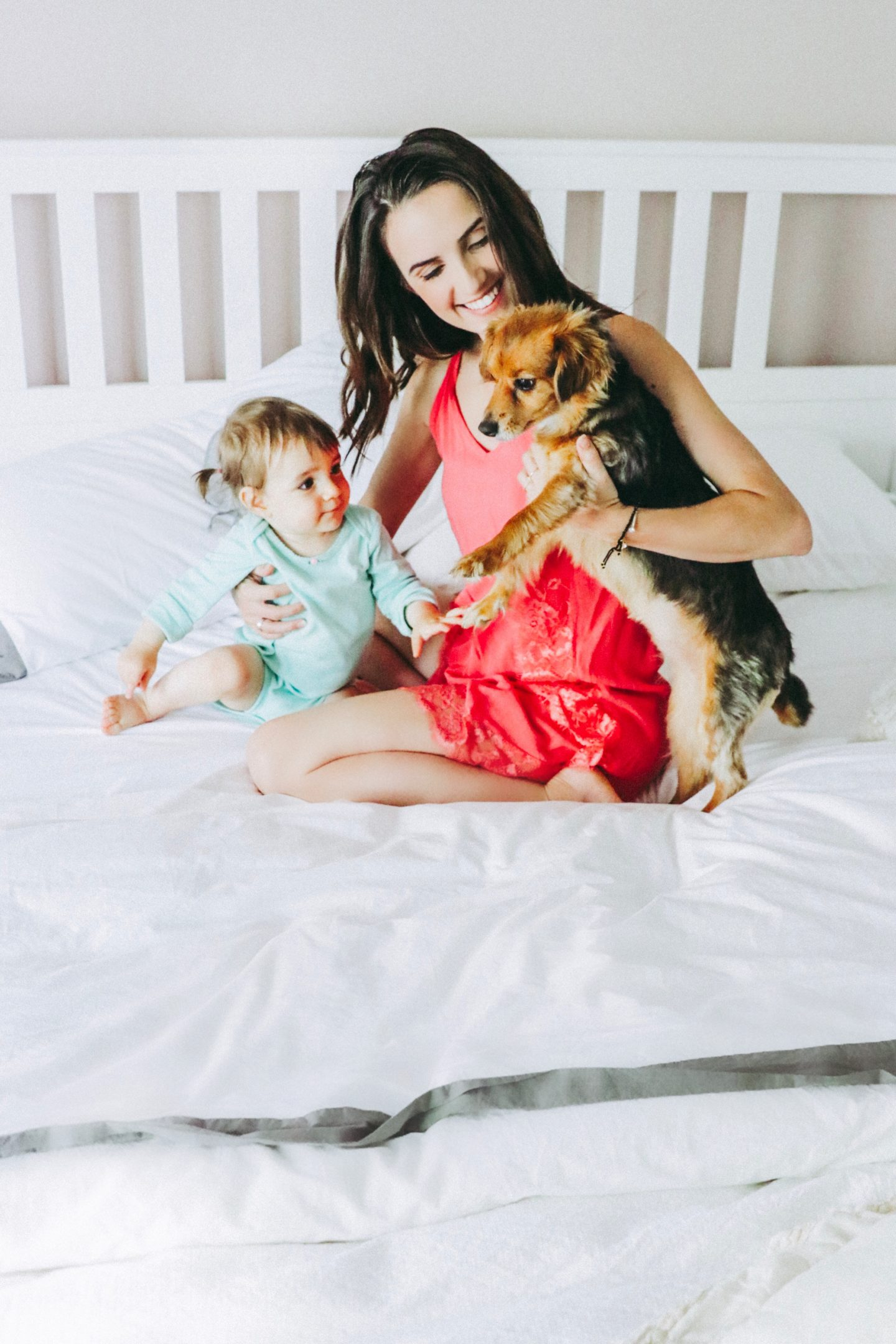 The Casual Free: 5 Ways To Get More Sleep With A Toddler – Family with Baby and Dog – thecasualfree.com