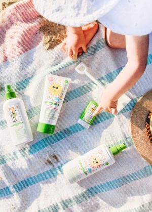 Beach Essentials For A Toddler - Babyganics Sunscreen - thecasualfree.com