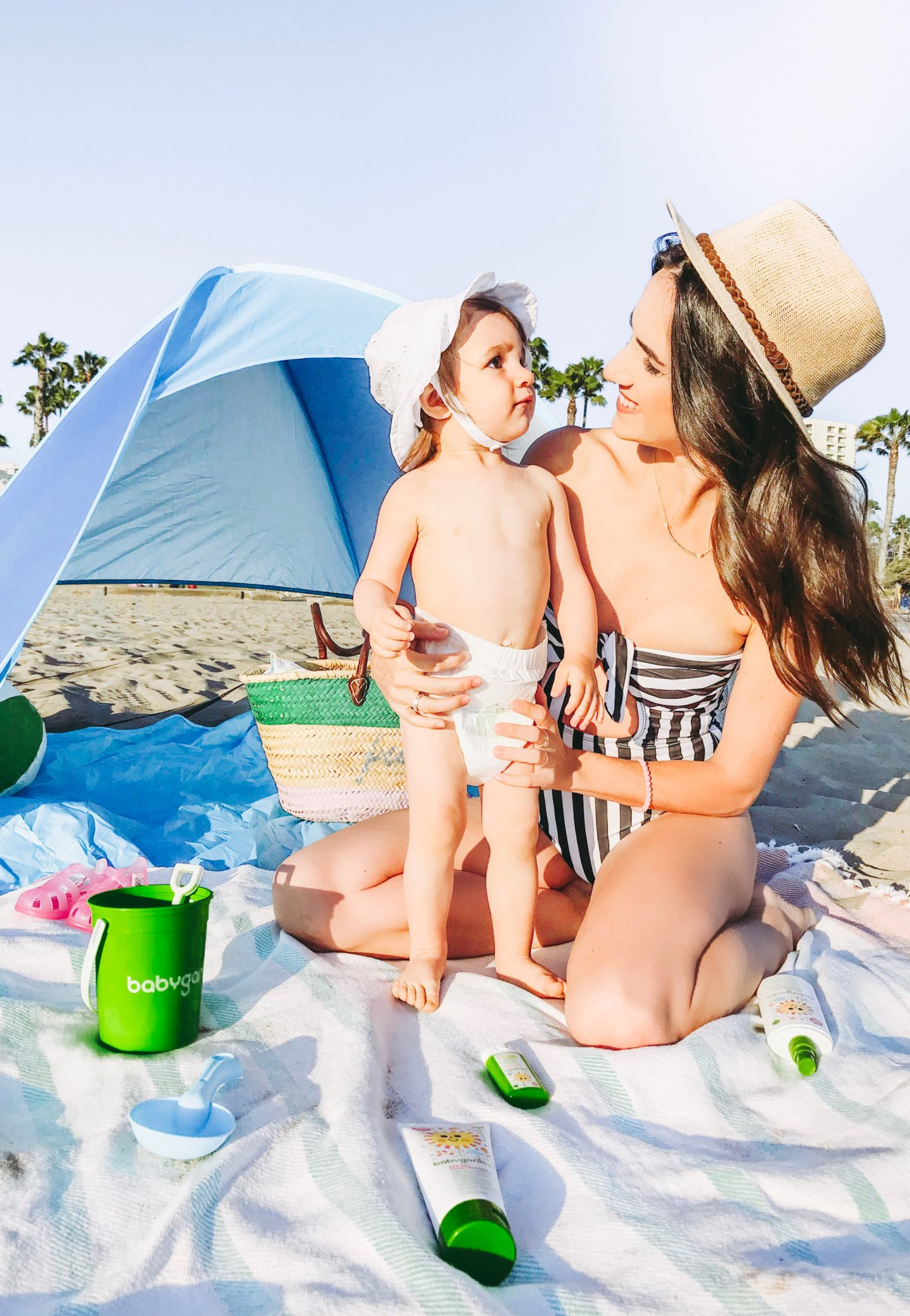 Beach Essentials For Toddler - Babyganics Mama and Baby - thecasualfree.com