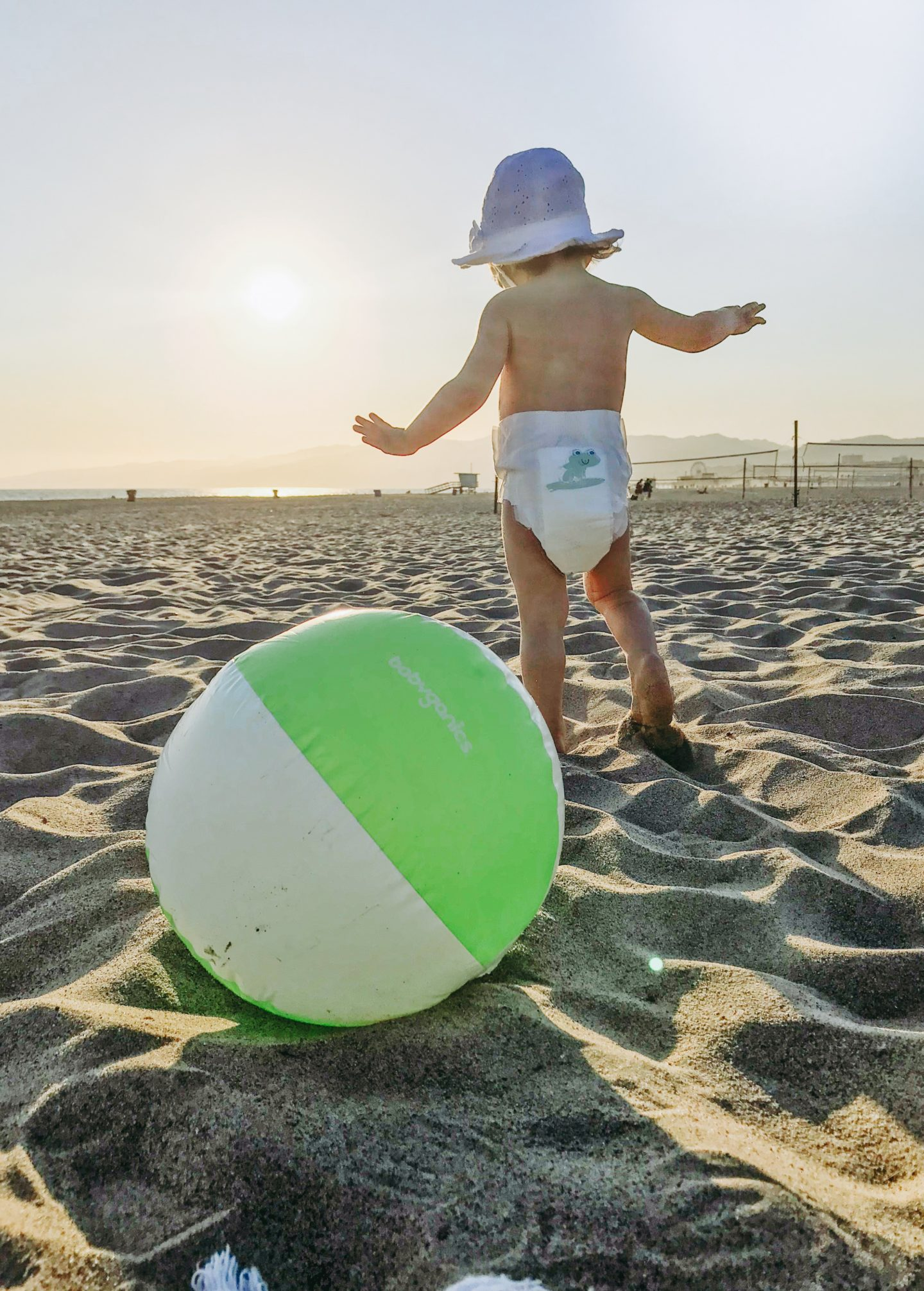 Beach Essentials For A Toddler - Babyganics Sunset - thecasualfree.com