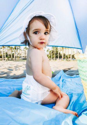 Beach Essentials For A Toddler - Babyganics Swim Pants - thecasualfree.com