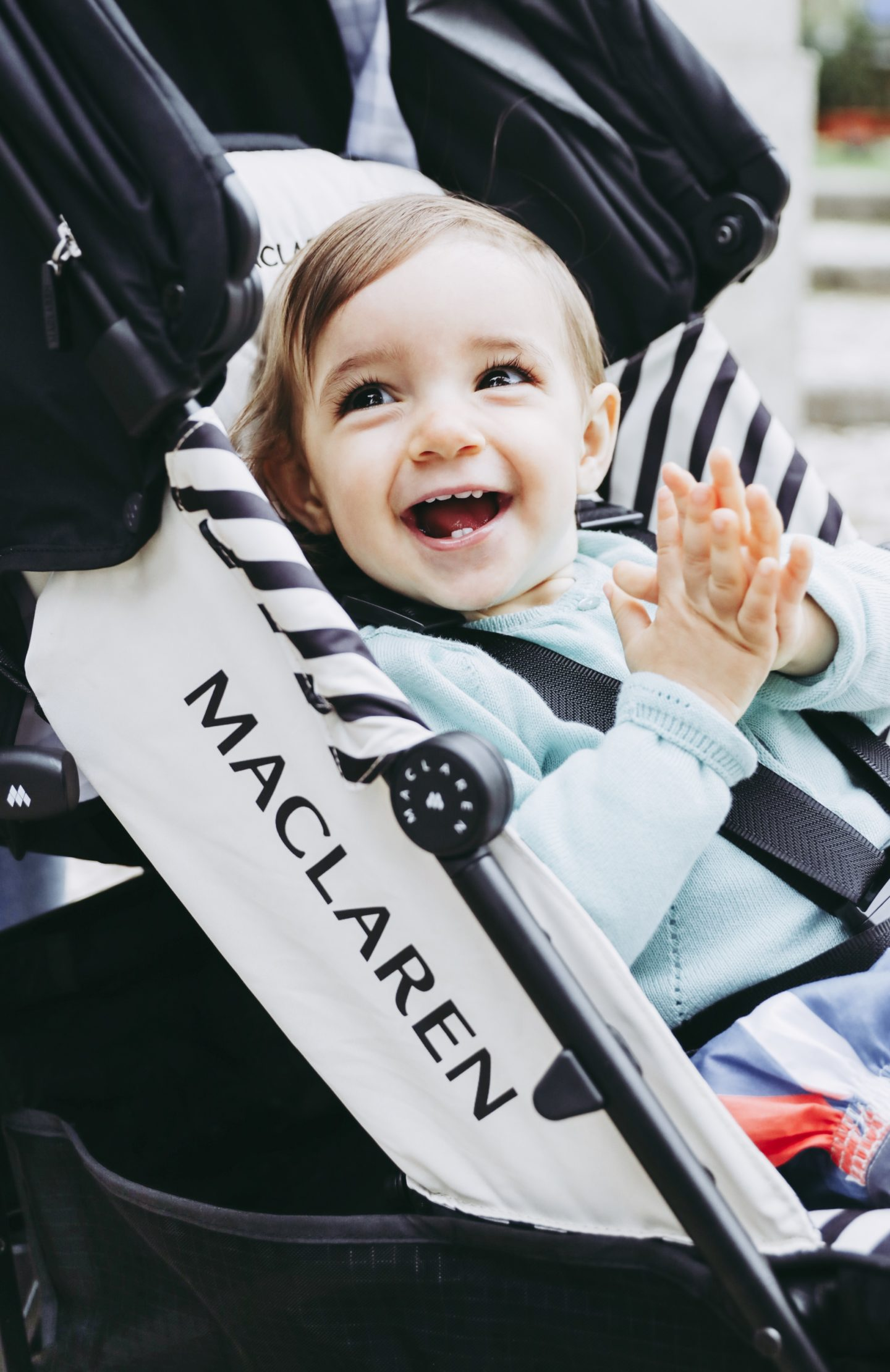 Why You Need A Lightweight Stroller In Your Life - Baby in Maclaren Quest stroller - thecasualfree.com