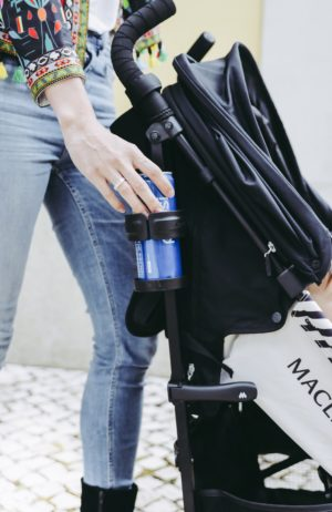 Why You Need A Lightweight Stroller In Your Life - Accessories Cup Holder Maclaren Quest stroller - thecasualfree.com