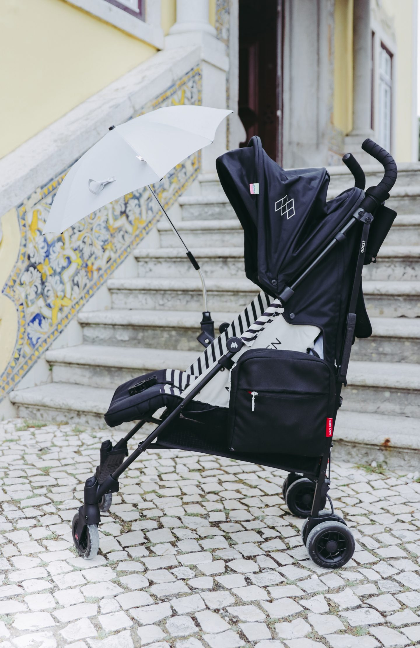 Why You Need A Lightweight Stroller In Your Life - Parasol Maclaren Quest stroller - thecasualfree.com