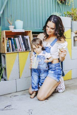 Denim Outfits For Day and Night - Mommy and Me Overalls - thecasualfree.com