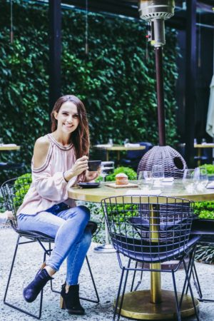 A Perfect Day In Palermo, Buenos Aires - Casa Cavia Patio Coffee - thecasualfree.com