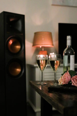 3 Perfect Playlists For Hosting At Home - Klipsch R-820F Speaker System - Home Audio Setup - thecasualfree.com