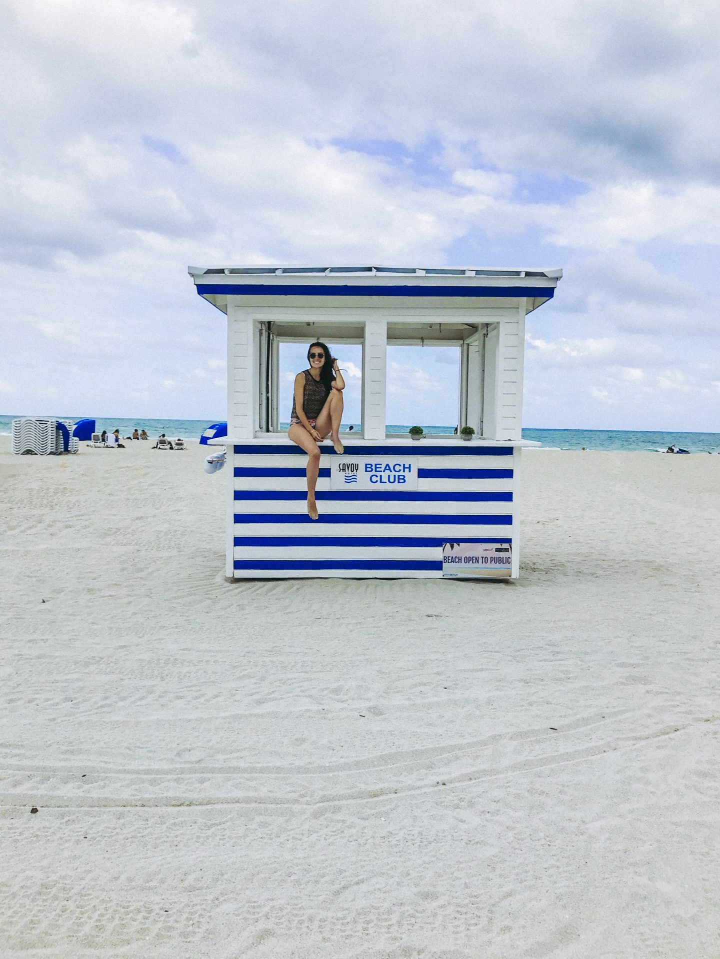 Travel Diary: Miami Mini Vacation Roundup! On the beach hut! - thecasualfree.com