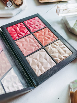 Latest Luxury Beauty Favorites - NARS Tryst Cheek Palette - thecasualfree.com