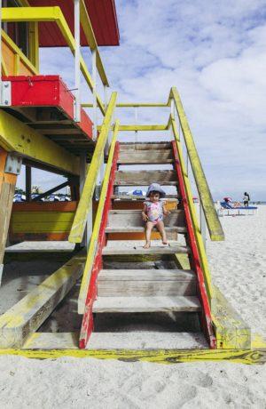 Travel Diary: Miami Mini Vacation Roundup! Zoe on the Lifeguard Hut - thecasualfree.com