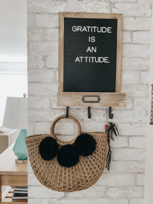 Spring Decor Inspiration: Farmhouse Accents - Stage Stores Home Decor Letter Board - thecasualfree.com