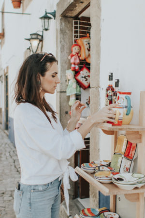 A Day In Óbidos, Portugal - Souvenirs - thecasualfree.com