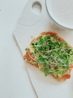 Easy Morning Brunch - Smoked Salmon on Toast Recipe - thecasualfree.com