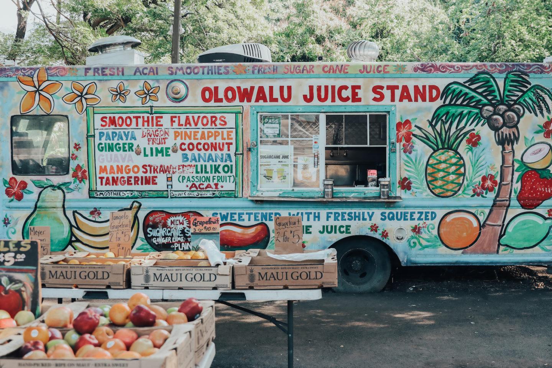Travel Diary: Maui, Hawaii - Olowalu Juice Truck - www.thecasualfree.com