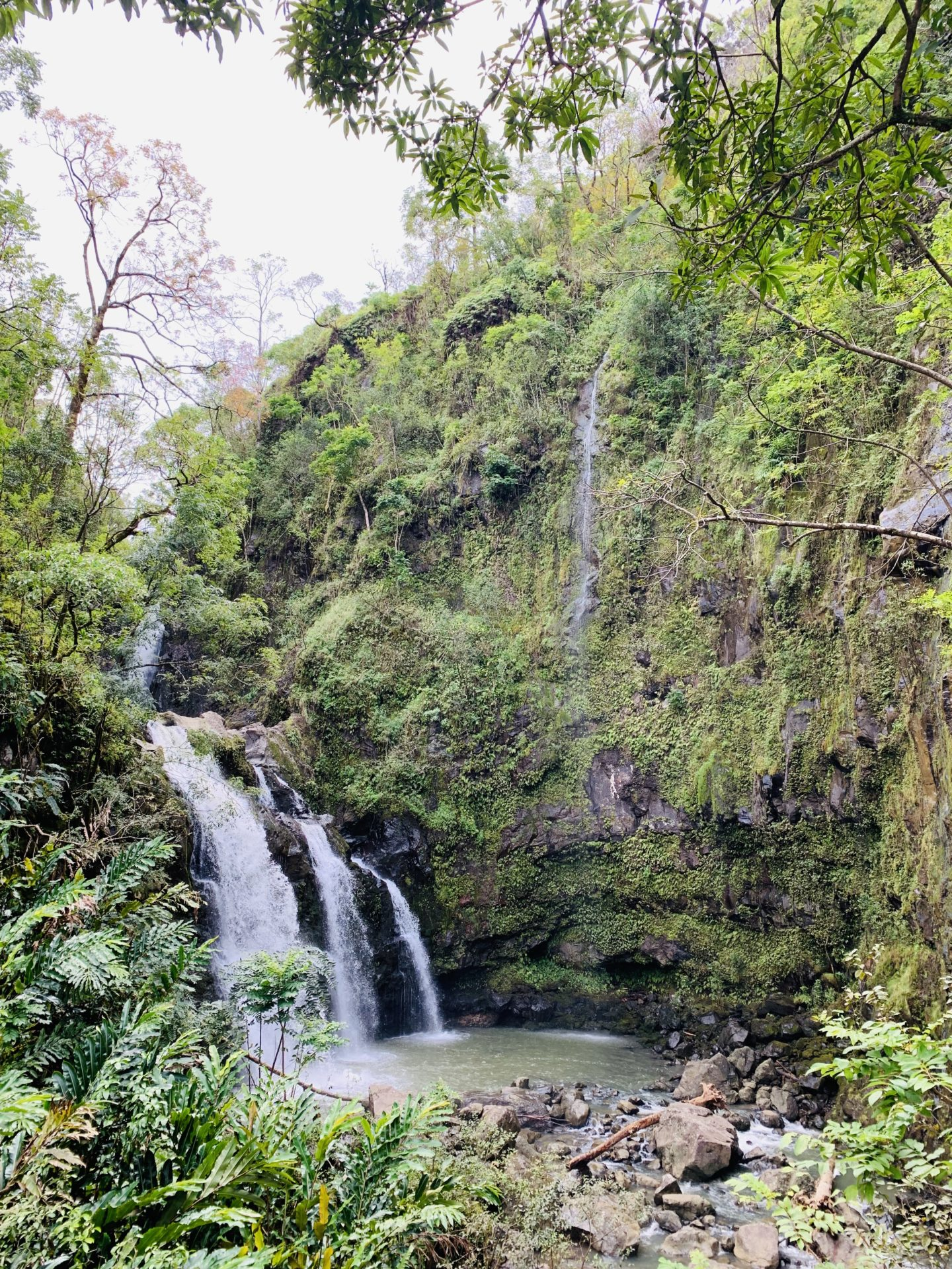 Travel Diary: Maui, Hawaii - Road To Hana Waterfall - www.thecasualfree.com