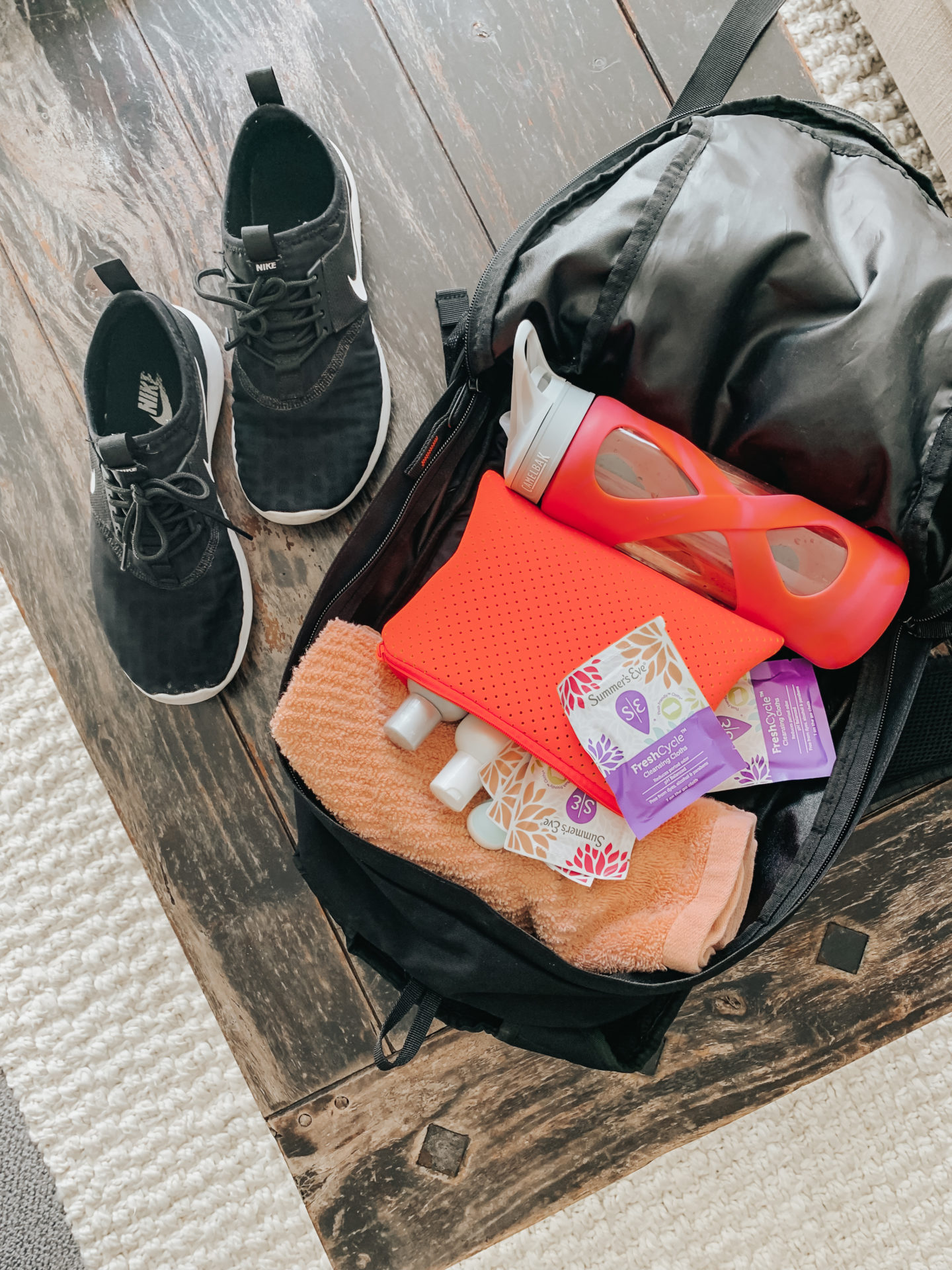 Summers Eve FreshCycle Cleansing Cloths in individuals for the gym and on the go!