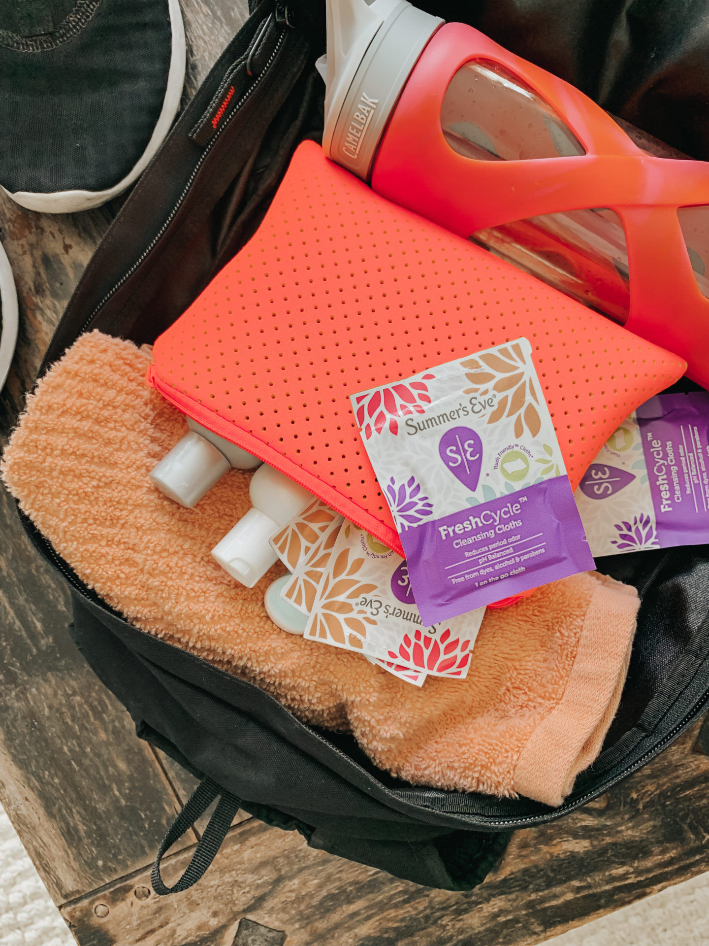 Summers Eve FreshCycle Cleansing Cloths in individual wrappers!