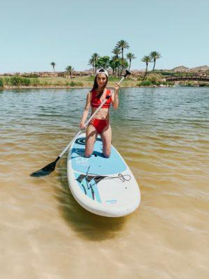 The Westin Lake Las Vegas - Beach Paddle Board - thecasualfree.com