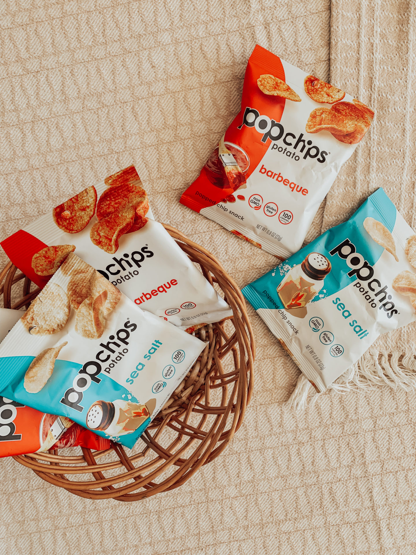 Babbleboxx Popchips Single Packs- Back To School Snacks - thecasualfree.com