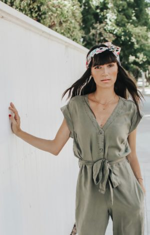 The Perfect Fall Transition Piece - Bella Dahl Cap Sleeve Jumpsuit - thecasualfree.com