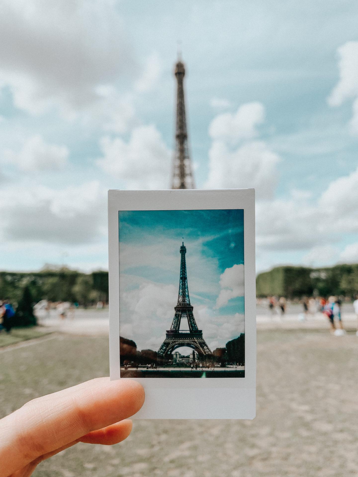 Paris Eiffel Tower Polaroid – thecasualfree.com