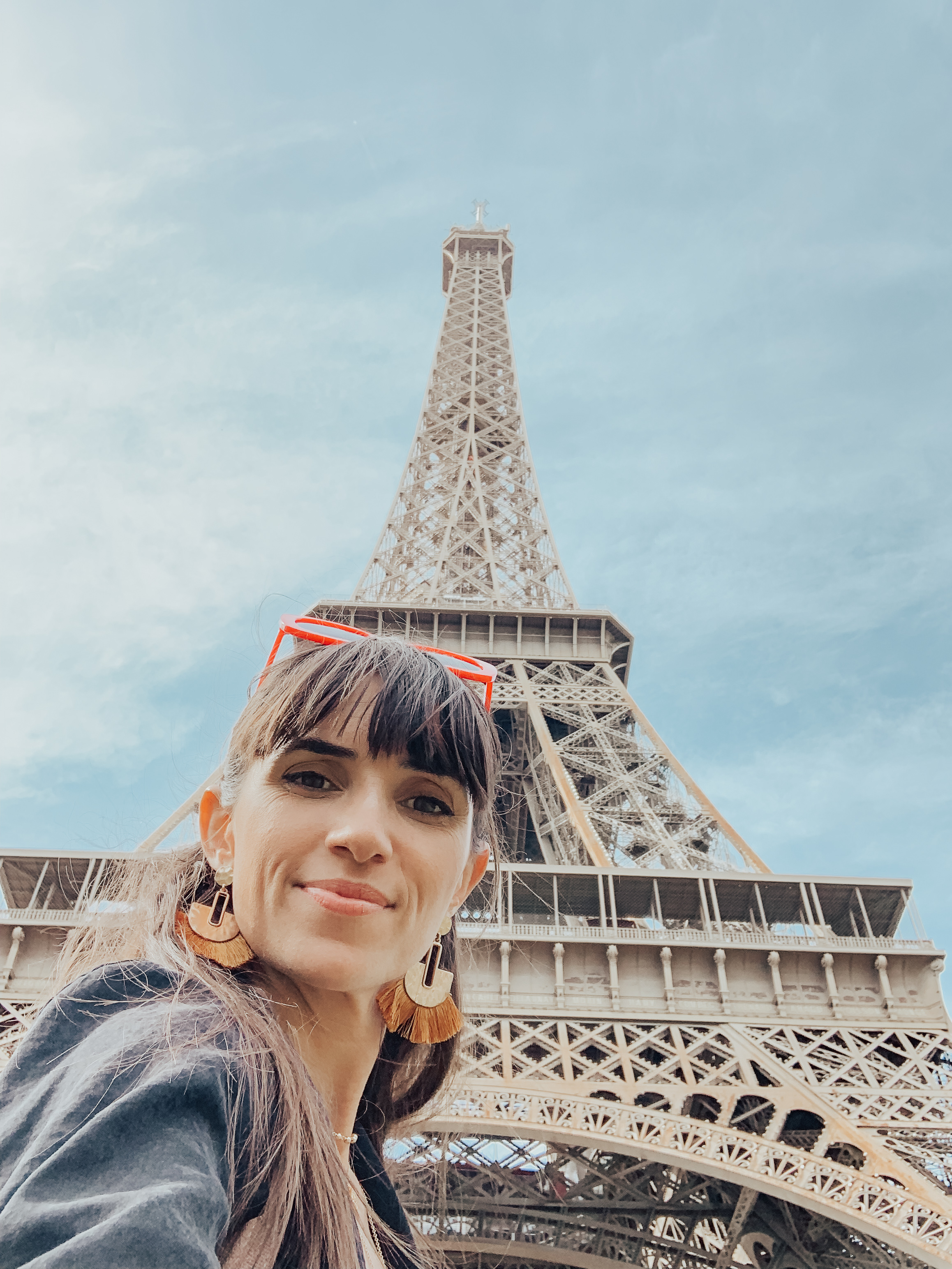 Underneath the Eiffel Tower in Paris – thecasualfree.com