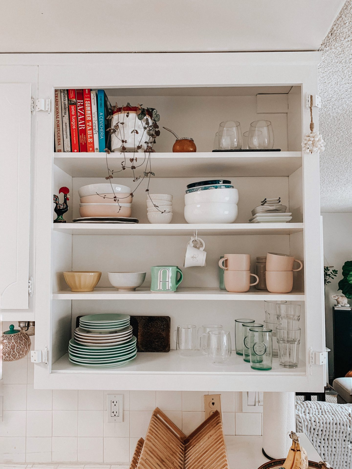 DIY an Open Kitchen Cabinet Quickly!
